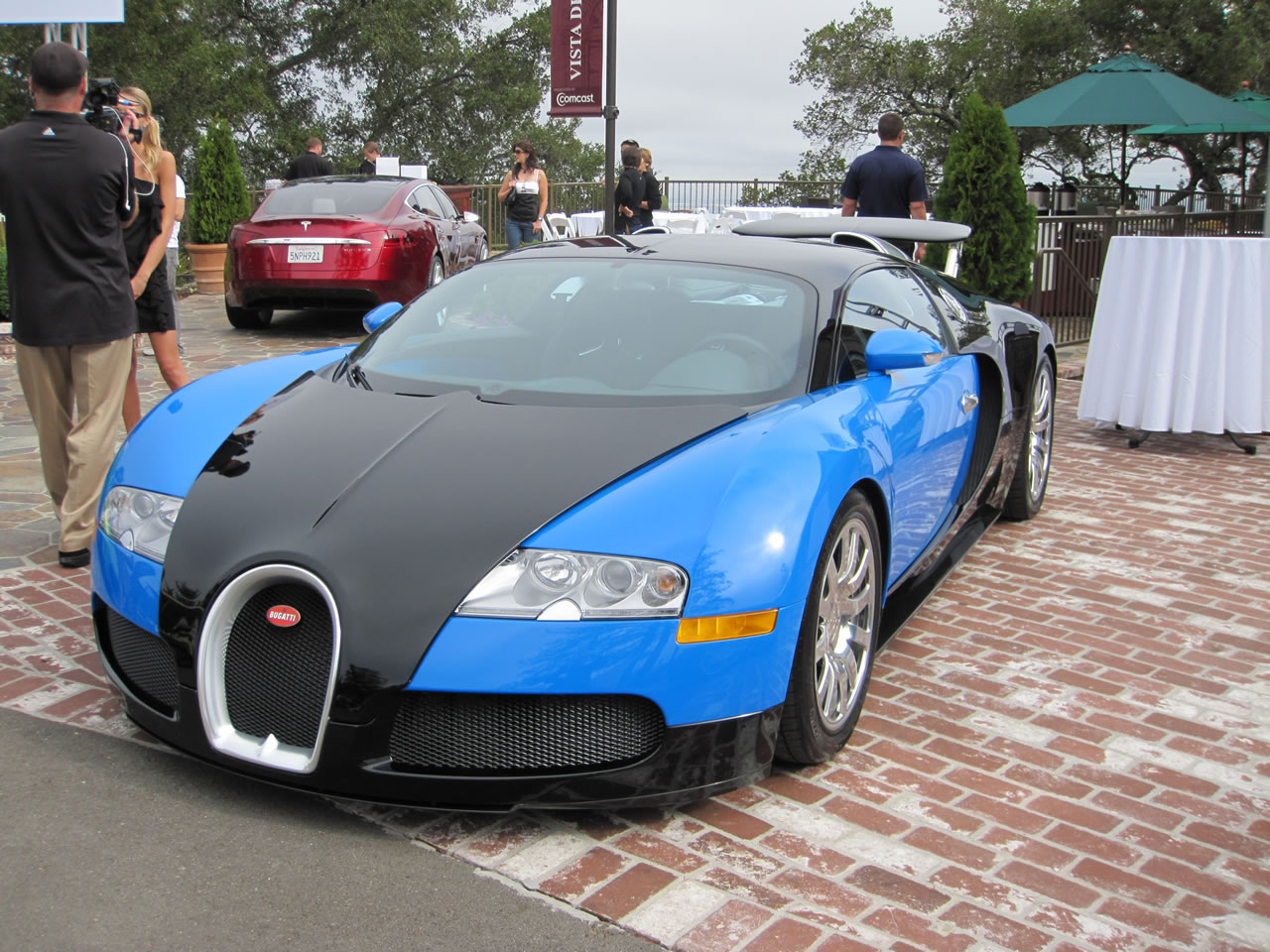 Weekly Photo Archive Veyron W16 Engine Diagram Intake A Bugatti With Prototype Tesla S