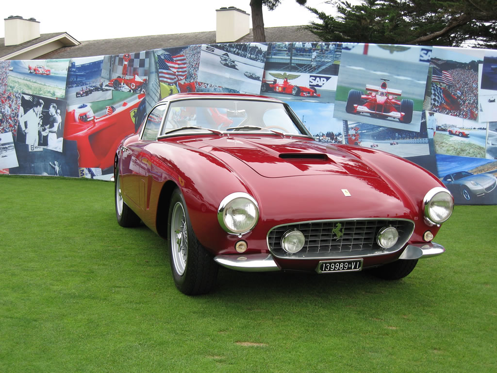 Ferrari 250 GT SWB at Pebble